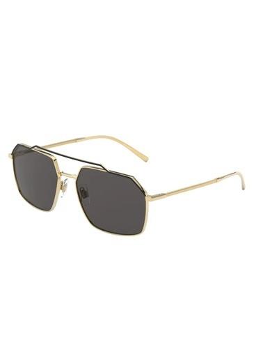 Dolce&Gabbana Dolce & Gabbana 0Dg2250 126887 59 Ekartman Erkek Güneş Gözlüğü Altın